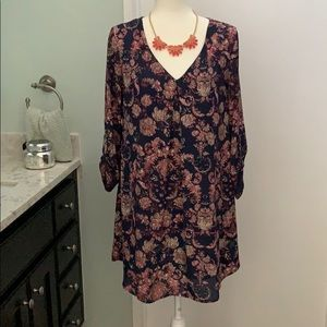 Lush floral paisley dress from Nordstrom
